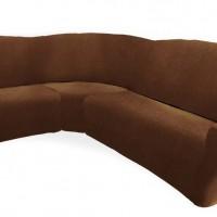Чехол на классический угловой диван универсальный Тейде Марон